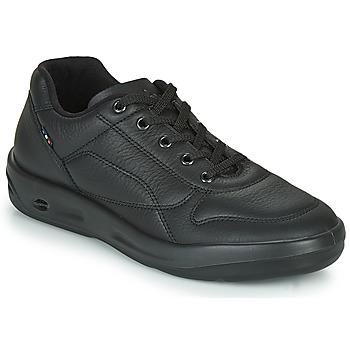 Shoes Men Low top trainers TBS ALBANA Black