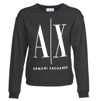 Clothing Women Sweaters Armani Exchange 8NYM02 Black