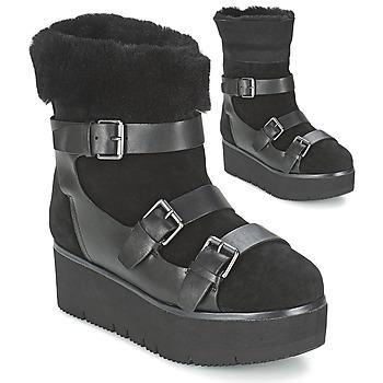 Shoes Women Mid boots Ash ZAZIE Black