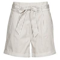 Clothing Women Shorts / Bermudas Vero Moda VMEVA White / Beige