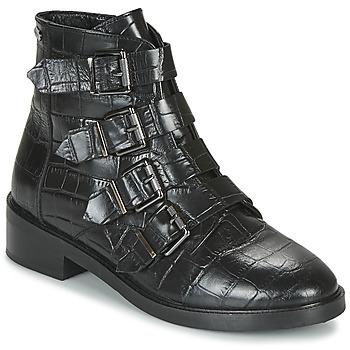 Shoes Women Mid boots Pepe jeans MALDON IMAN Black