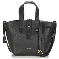 Bags Women Shoulder bags Furla FURLA NET MINI TOTE Black