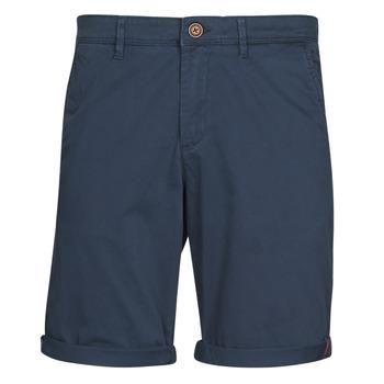 Clothing Men Shorts / Bermudas Jack & Jones JJIBOWIE Marine