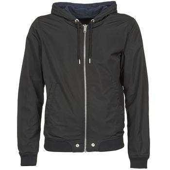 Clothing Men Jackets Diesel J-HELLSWE Black