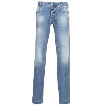 Clothing Men straight jeans Diesel IAKOP Blue / Clear