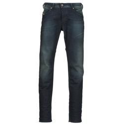 Clothing Men straight jeans Diesel BELHER Blue / Dark