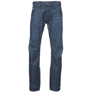 Clothing Men straight jeans Diesel BUSTER Blue / Dark
