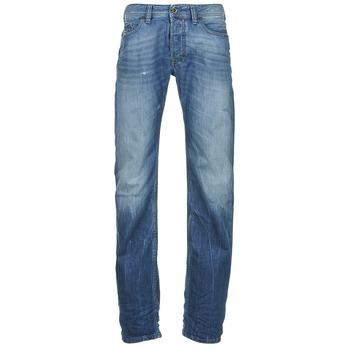 Clothing Men straight jeans Diesel SAFADO Blue / MEDIUM