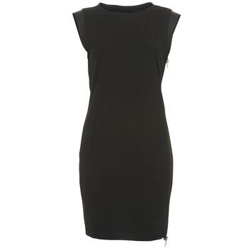 Clothing Women Short Dresses Diesel D-ANNINA Black