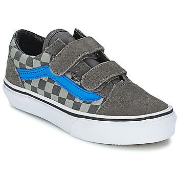 Shoes Children Low top trainers Vans Old Skool V Pewter / NEUTRAL / Granite