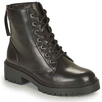 Shoes Women Mid boots Unisa JISPER Black