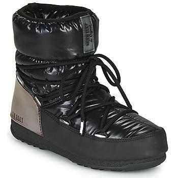 Shoes Women Snow boots Moon Boot MOON BOOT LOW ASPEN WP Black