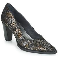 Shoes Women Heels Myma KOLA Black / Gold