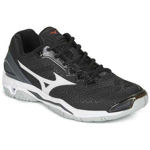 Shoes Men Indoor sports trainers Mizuno WAVE PHATOM 2 Black