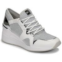 Shoes Women Low top trainers MICHAEL Michael Kors LIV TRAINER White / Silver