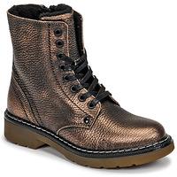 Shoes Girl Mid boots Bullboxer AOL501E6LGCHAM Bronze