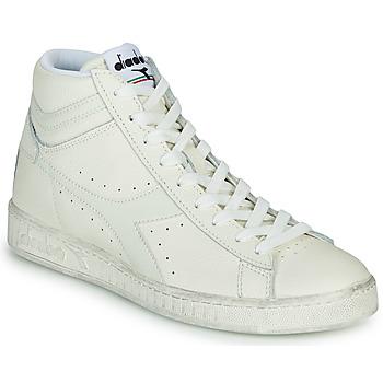 Shoes Hi top trainers Diadora GAME L HIGH WAXED White