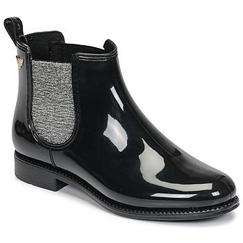 Shoes Women Wellington boots Les Petites Bombes RAIN Black