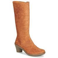 Shoes Women High boots Art ALFAMA Brown