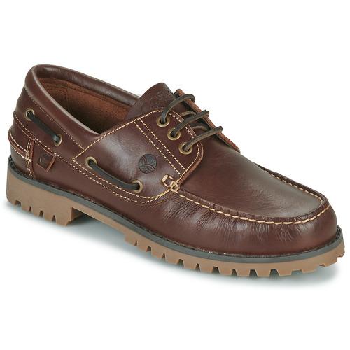 Shoes Men Boat shoes Casual Attitude EVEROA Brown