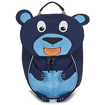 Bags Children Rucksacks Affenzahn BOBO BEAR Marine