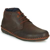 Shoes Men Mid boots Fluchos ALFA Brown