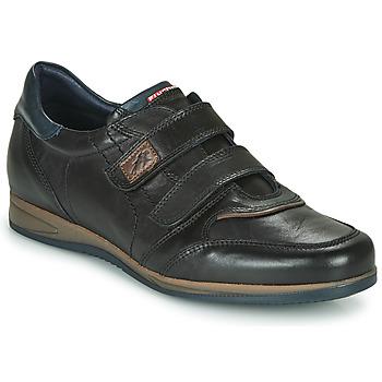Shoes Men Low top trainers Fluchos DANIEL Black