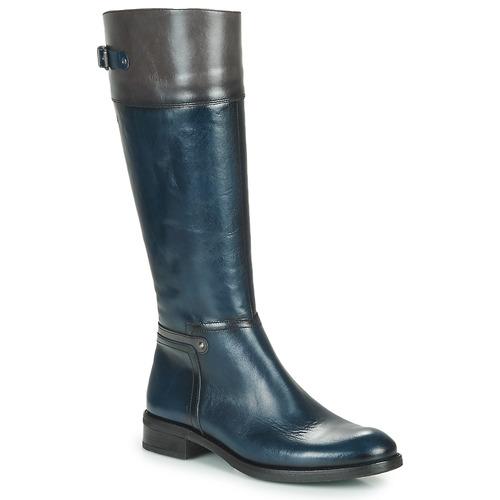 Shoes Women High boots Dorking TIERRA Blue / Grey