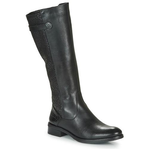 Shoes Women High boots Dorking TIERRA Black