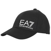 Clothes accessories Men Caps Emporio Armani EA7 TRAIN CORE ID M LOGO CAP Black