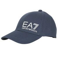 Clothes accessories Men Caps Emporio Armani EA7 TRAIN CORE ID M LOGO CAP Marine