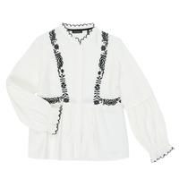 Clothing Girl Shirts Ikks XR12022 White