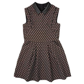 Clothing Girl Short Dresses Ikks XR30212 Black