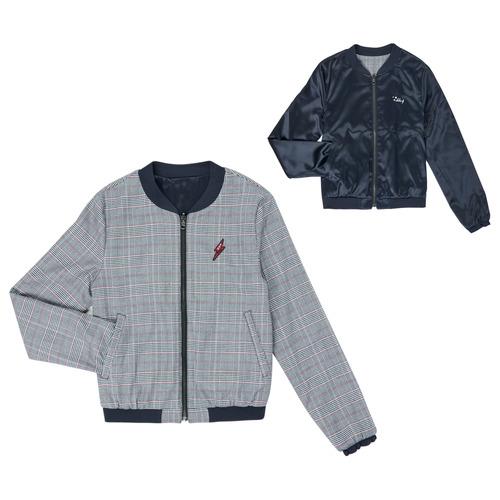 Clothing Girl Jackets Ikks XR40012 Blue