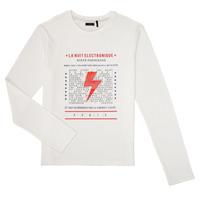 Clothing Boy Long sleeved tee-shirts Ikks XR10023 White