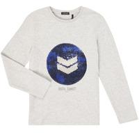 Clothing Boy Long sleeved tee-shirts Ikks XR10273 Grey