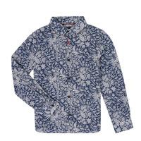 Clothing Boy Long-sleeved shirts Ikks XR12023 Blue