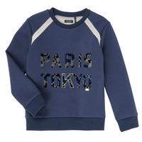 Clothing Boy Sweaters Ikks XR15093 Blue