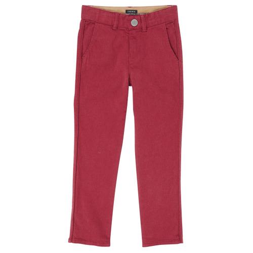 Clothing Boy 5-pocket trousers Ikks XR22093J Red
