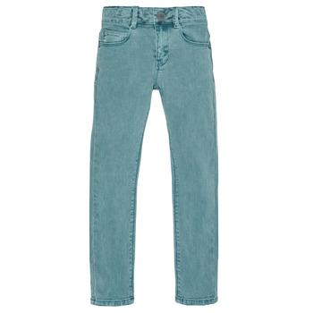 Clothing Boy Slim jeans Ikks XR29013 Green