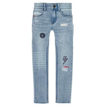Clothing Boy Slim jeans Ikks XR29053 Blue