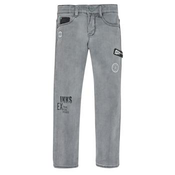 Clothing Boy Slim jeans Ikks XR29123 Grey