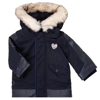 Clothing Girl Parkas Ikks XR42000 Blue
