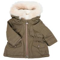 Clothing Girl Parkas Ikks XR42020 Kaki
