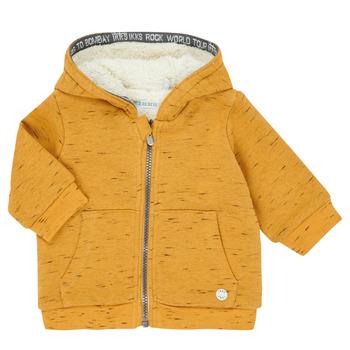 Clothing Boy Jackets / Cardigans Ikks XR17031 Yellow