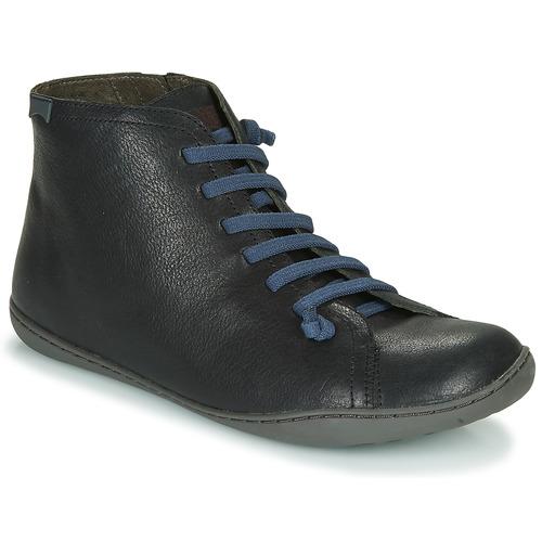 Shoes Men Mid boots Camper PEU CAMI Black