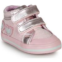 Shoes Girl Hi top trainers Chicco GEORGIAN Pink