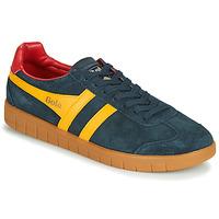 Shoes Men Low top trainers Gola HURRICANE Marine / Yellow
