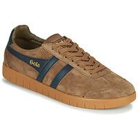 Shoes Men Low top trainers Gola HURRICANE Brown / Marine