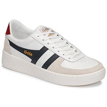 Shoes Men Low top trainers Gola GRANDSLAM CLASSIC White / Marine
